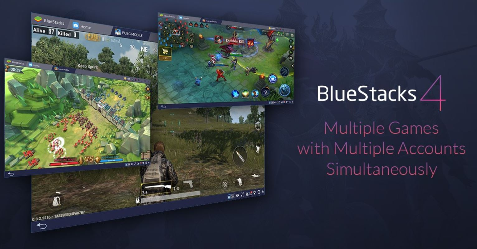 Open Multiple Bluestacks Multiple Accounts